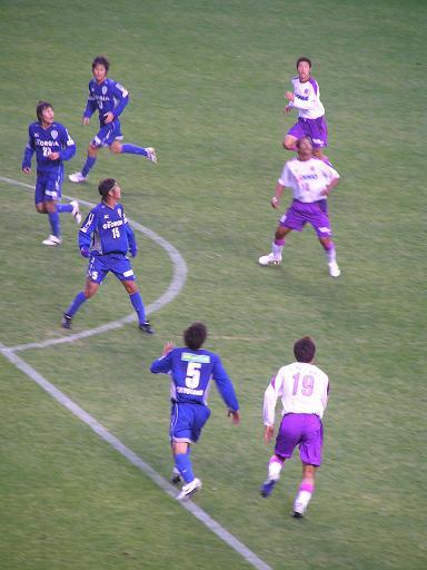 2006.11.11 vs サンフレッチェ広島@博多の森