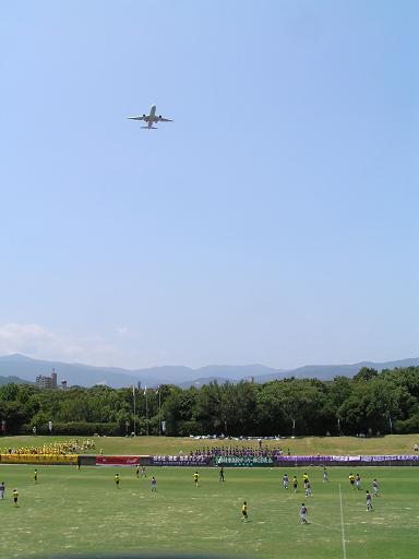2007高校総体 境(鳥取)×藤枝東(静岡)@春日公園球技場