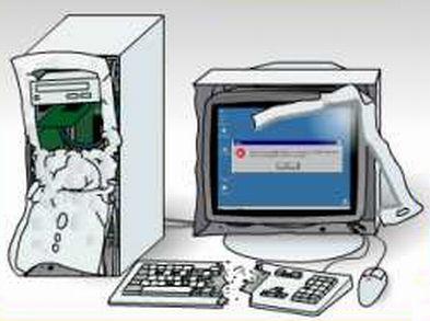 パソコン破壊
