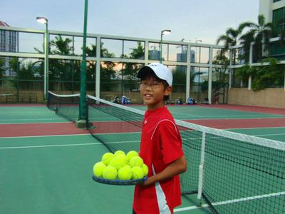 エンジョイテニス!エンジョイ シンガポール!