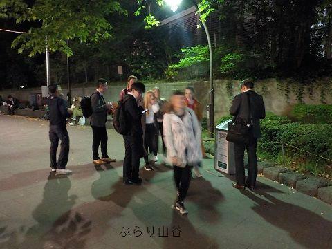 上野公園にいた外国人女子