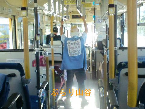 路線バスに乗るダメな乗客