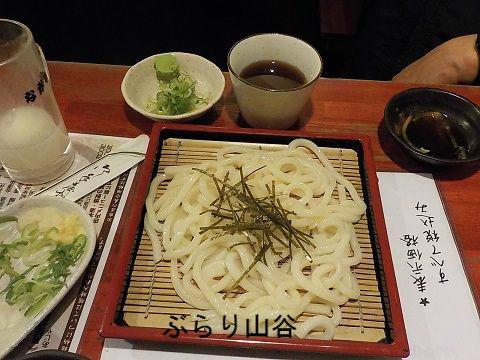 浅草で讃岐うどんを食べる