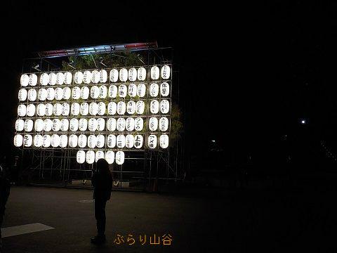 上野公園の提灯