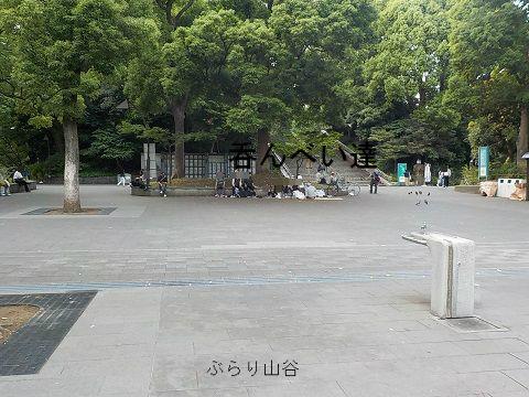 上野公園で呑んべい