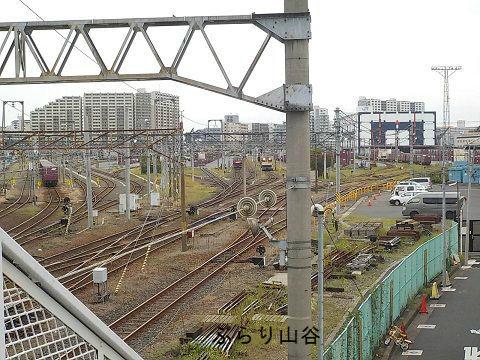 隅田川駅電気機関車