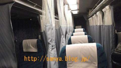 高速バスムーンスター号で東京大阪を移動する