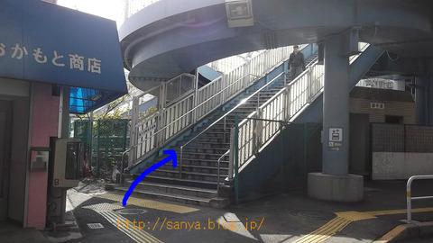 メトロ南千住駅から山谷へ行く
