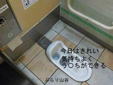 公衆トイレに入るときれいだった