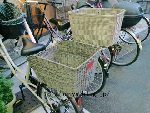 おばさんの自転車