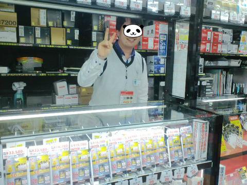 ヨドバシカメラマルチメディア上野店デジカメ詳しいスタッフ