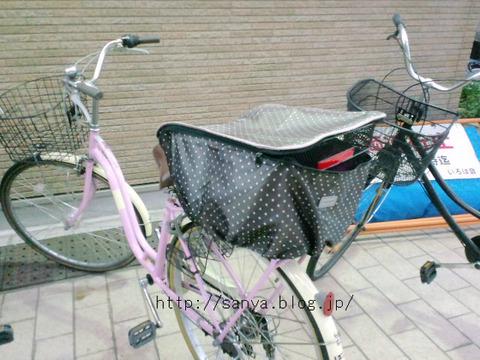 自転車の買い物かご