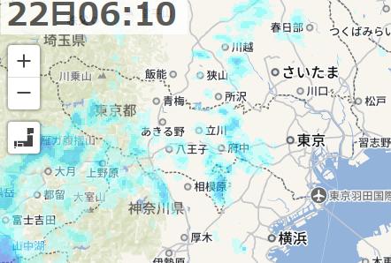 07-22 雨雲レーダー - Yahoo 天気・災害