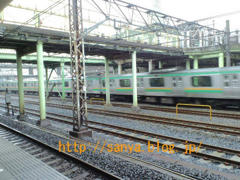 東京の電車は長い