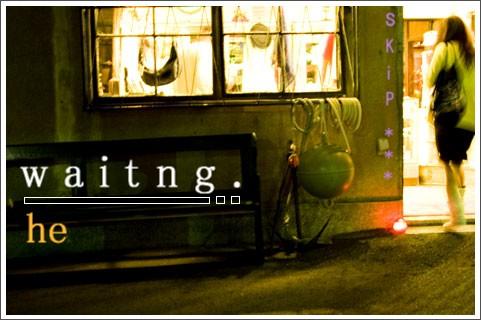waiting,,