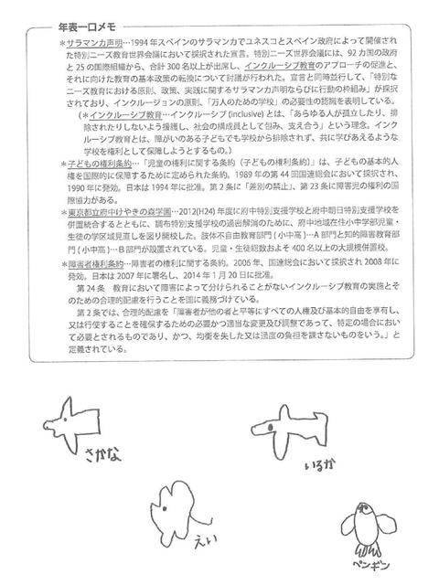 狛江の特別支援教育6
