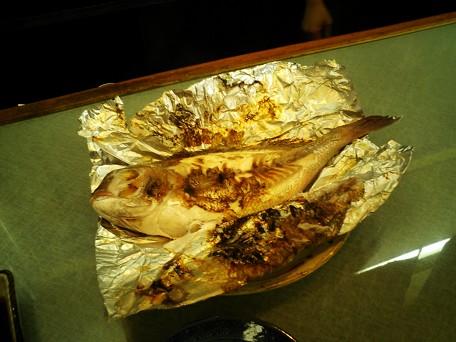 鯛のホイル焼き