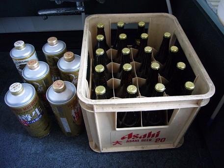 ビール詰め