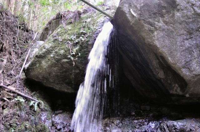 長寿寺奥の院滝