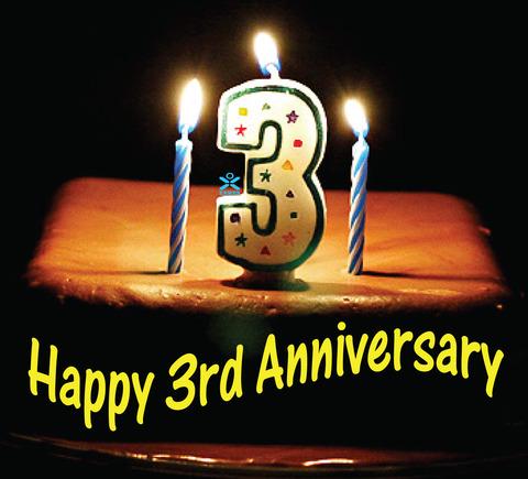 3rd-happy-anniversary-celebration-cake