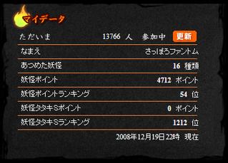 12月19日16種類(4712P54位)