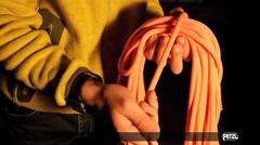 ロープの束ね方