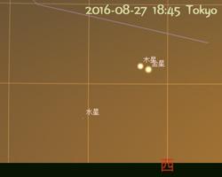 水星が東方最大離角2