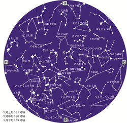 1月星図カラー2