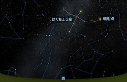 はくちょう座κ流星群