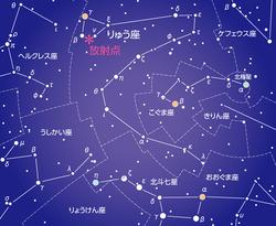 10月りゅう座流星群極大