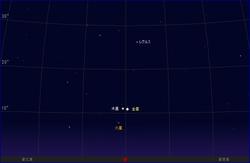 10月26日、金星と木星が大接近