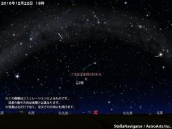 こぐま座流星群が極大
