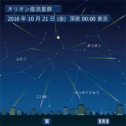10月21日(金) オリオン座流星群