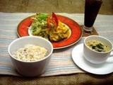 白身魚の柚子胡椒ソース