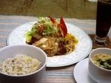 マグロの生姜焼