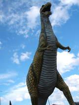 この恐竜が目印