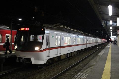 神奈川新町駅に見られた去年との差異。