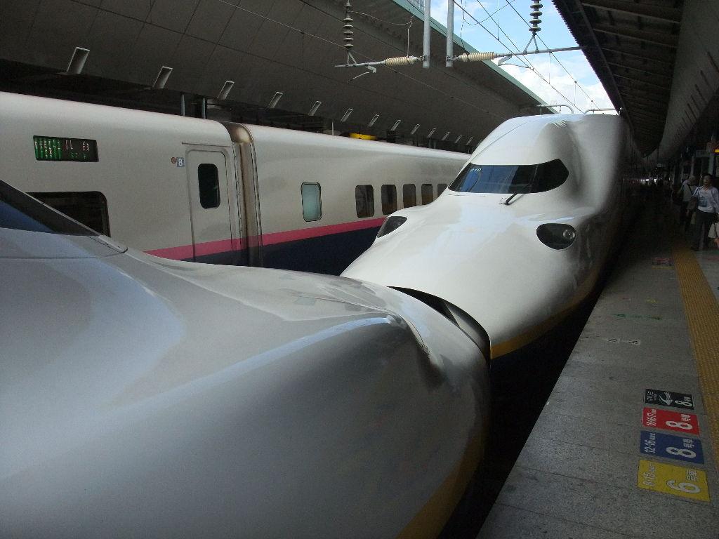 2012/09/15 引退間近のE1系を撮る!