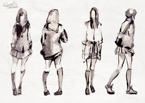 7女子高生