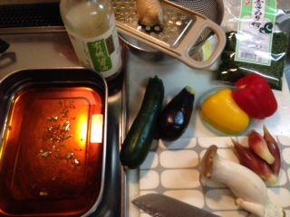 夏野菜料理�