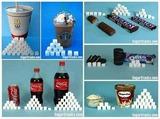 ペットボトルと白砂糖