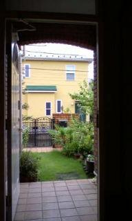 玄関から見える風景