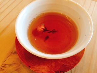さらさらきれい茶&桜