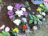 お庭造り�