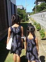 美桜&沙羅 田舎へ