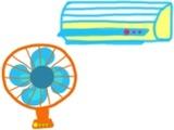 エアコン&扇風機