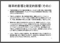 放射能について正しく理解するために(11)