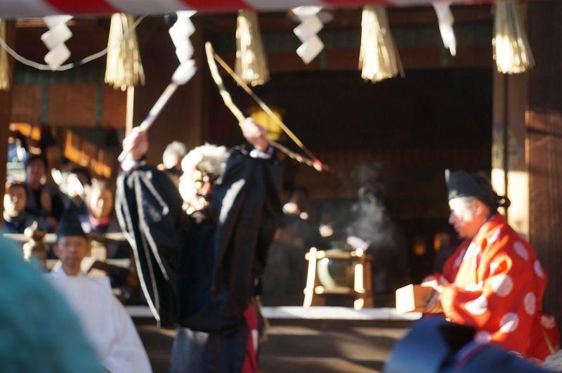 上野公園五条天神社うけらの神事 : 仮面の祝祭~神楽・獅子舞、仮面 ...