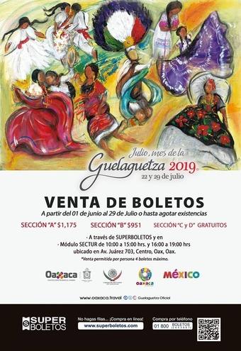 boletos guelaguetza 2019 2