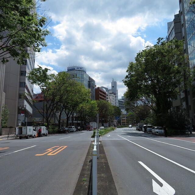 御苑大通り202004